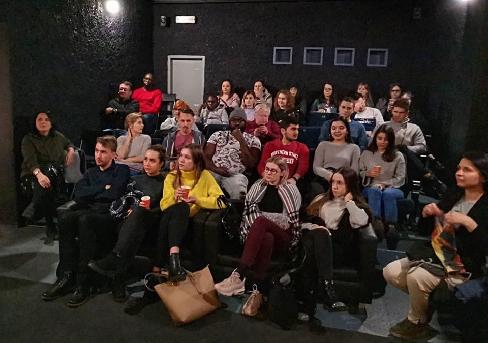 Byliśmy w kinie!